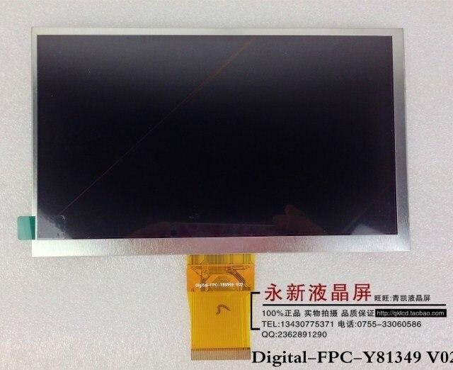 Оптоэлектронный дисплей 163 * 102 fpc/y81349