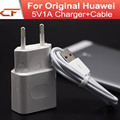 100pcs Charger USB Plug With CABLE FCC CE 5V 1A US EU AU Europe Standard AC Adapter For Huawei Mate7 mate 9 DHL