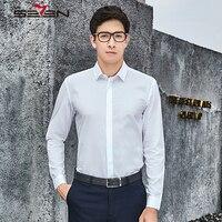 Seven7 High Quality Mens Dress Shirts 100 Cotton Formal Business Shirts Long Sleeve Slim Men Fashion