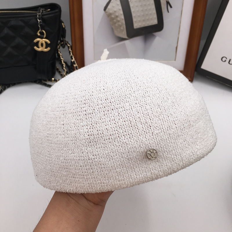 76e6994018a48 Detail Feedback Questions about Spring summer thin section M knitting  breathable pumpkin joker students in England cap female hat beret hat on ...