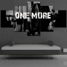 Canvas HD Print Poster Home Decor Wall Art Pictures 5 Piece About Music Songs One More And Sports Equipment Painting For Bedroom