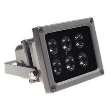 HOBOVISIN CCTV Array IR illuminator infrared lamp/white light 6pcs Array Led IR Outdoor Waterproof Night Vision for CCTV Camera