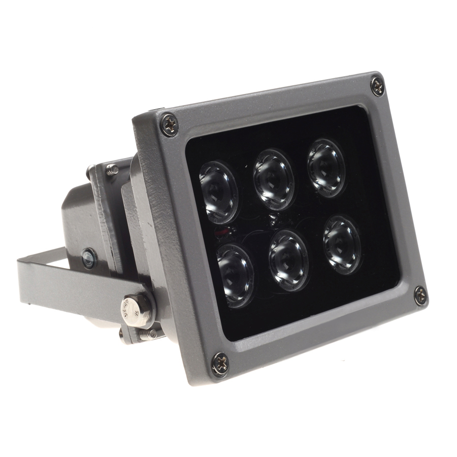 AZISHN infrared light 6pcs Led IR for CCTV Camera