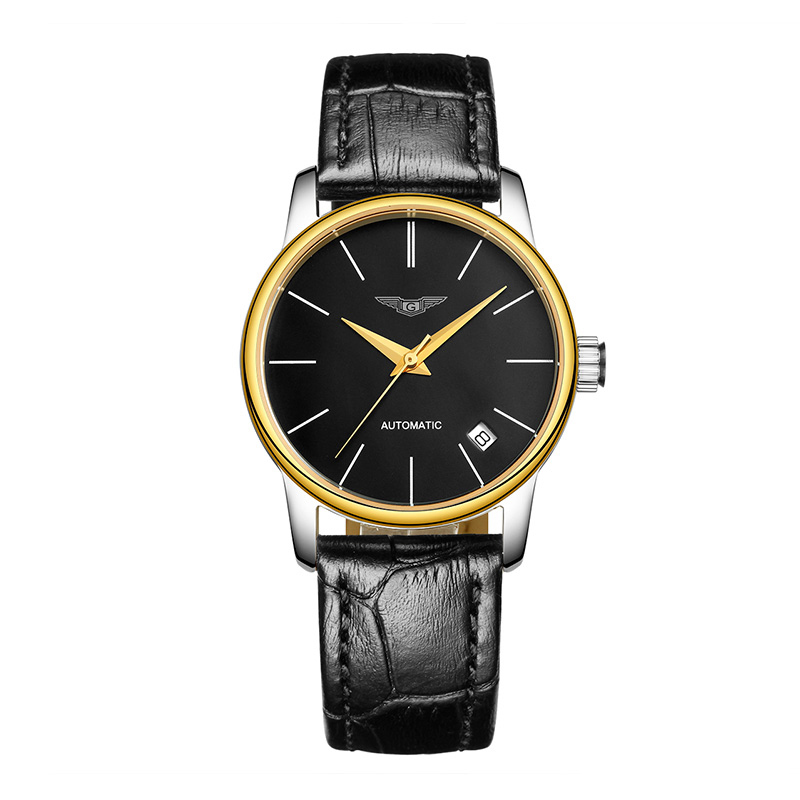 GUANQIN GJ16032 watch women luxury brand Japan MIYOTA Simple Design Ultra Thin Mesh Band Waterproof Steel Wristwatch guanqin gj16056 watch women luxury brand japan miyota mechanical watch leather automatic ultra thin watch female watch couple