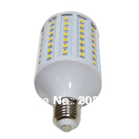 AC 220V or 110V 20W E14 E27 102 LED SMD 5050 360 degree Corn Light Bulb Lamp Cool White 16lm/led free shipping