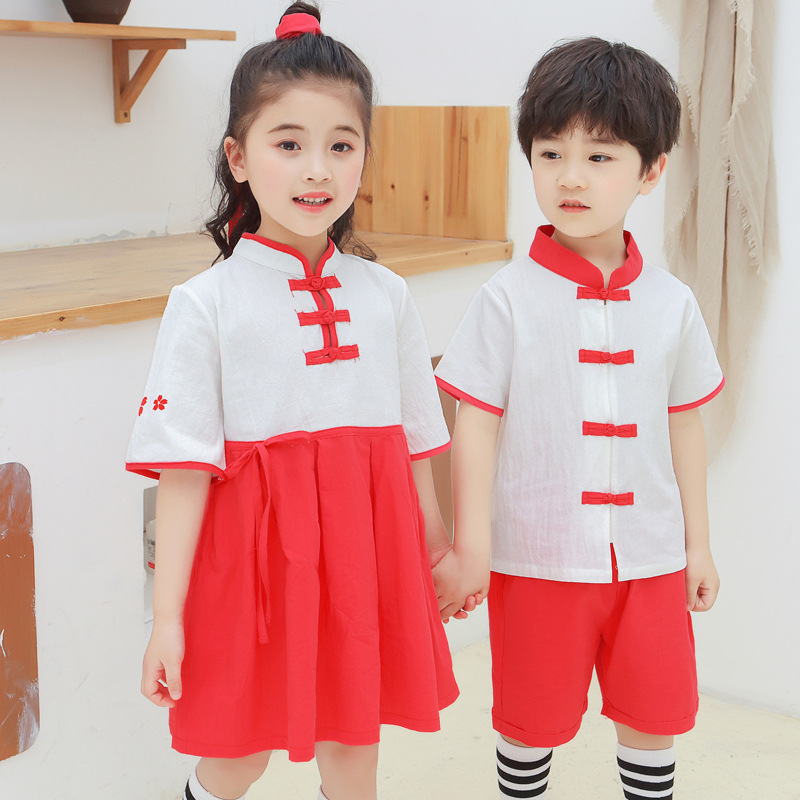 2019 Elementary School Skirt Pure Cotton School Uniform Japanese High School Uniform School Girl Costume