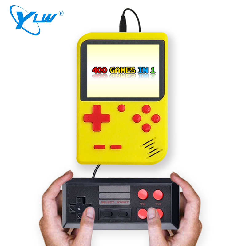 Image 2 - for gameboy portable handheld console built in 400 retro games support 2 players TV console-in Handheld Game Players from Consumer Electronics