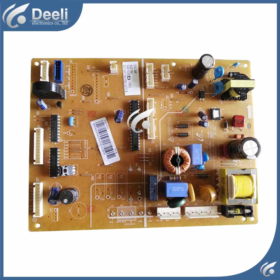 good working for refrigerator computer board power module DA92-00462D DA41-00815A board used stylish christmas snowman embroidery festival beanie for men and women
