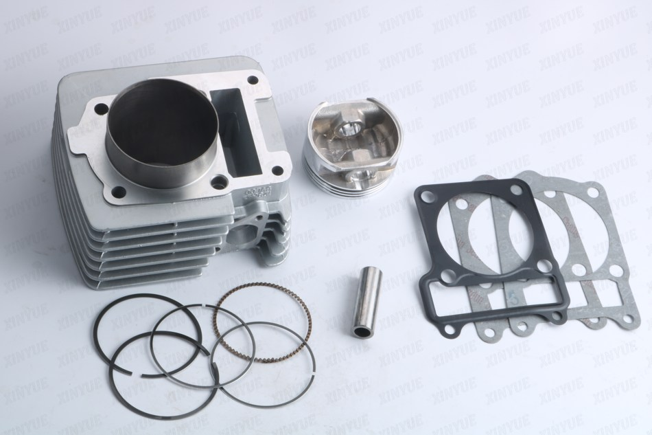 65MM Big Bore Cylinder Barrel & Piston Kit For Yamaha YBR125 Upgrade To 180cc 47mm 10mm 70cc big bore cylinder barrel kit head for aprilia gulliver rally scarabeo sonic sr 50cc