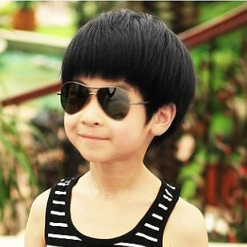 Fashion Children Boy Baby Wig Kids Straight Hair Short Hair For Photography Black Color Wig Remy Hair Wig Standhair Wigs Aliexpress