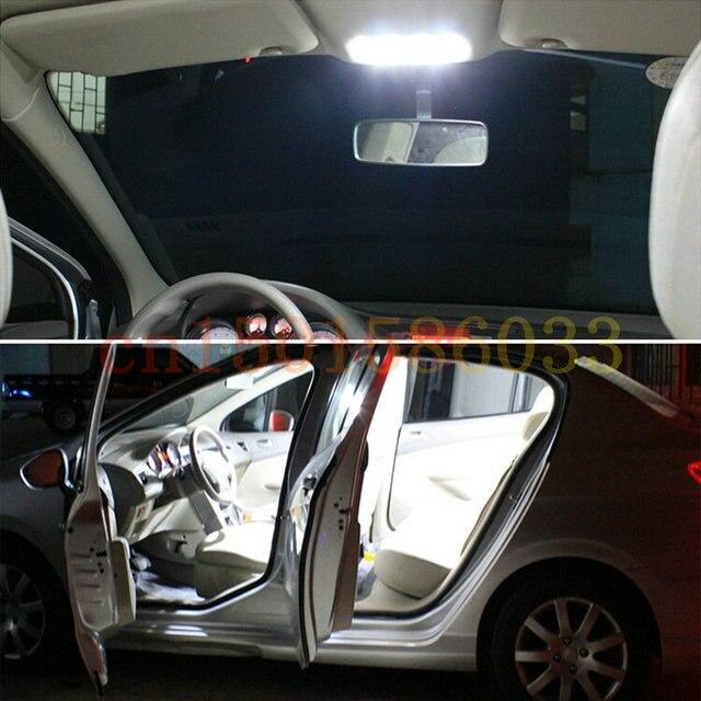Car Led Reading Light For 2012 Chrysler 200 Dome Map trunk License plate lamp 8pc 5