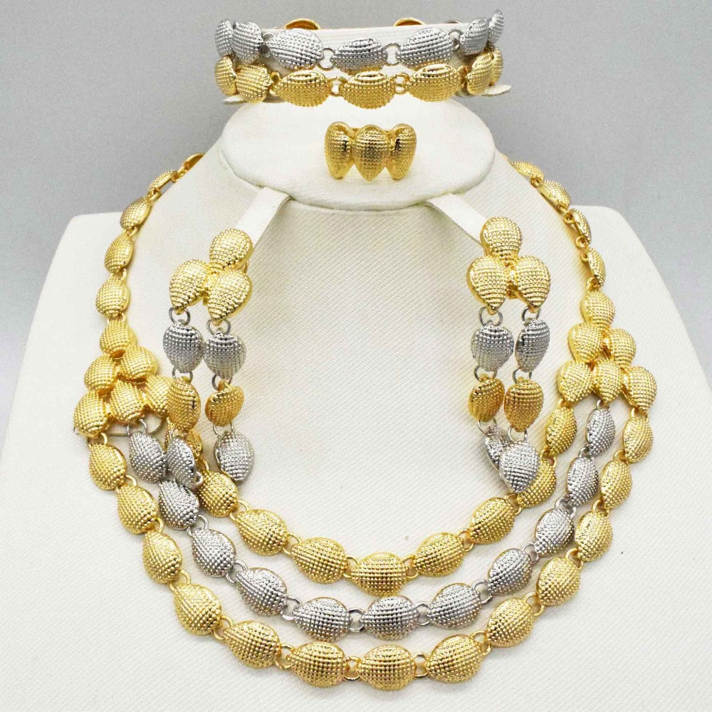 2019 New Wholesale Gorgeous African Vintage Jewelry Sets