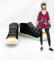 Pokemon Go Male And Female Trainer Two Style Shoes Black And White Color Cosplay Costume Shoes