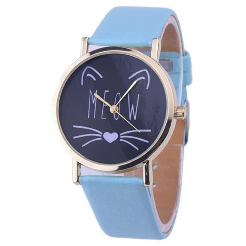 Superior Relogio Feminino Clock Leather Band Analog Quartz Vogue Wrist Watches Gift Dec 28