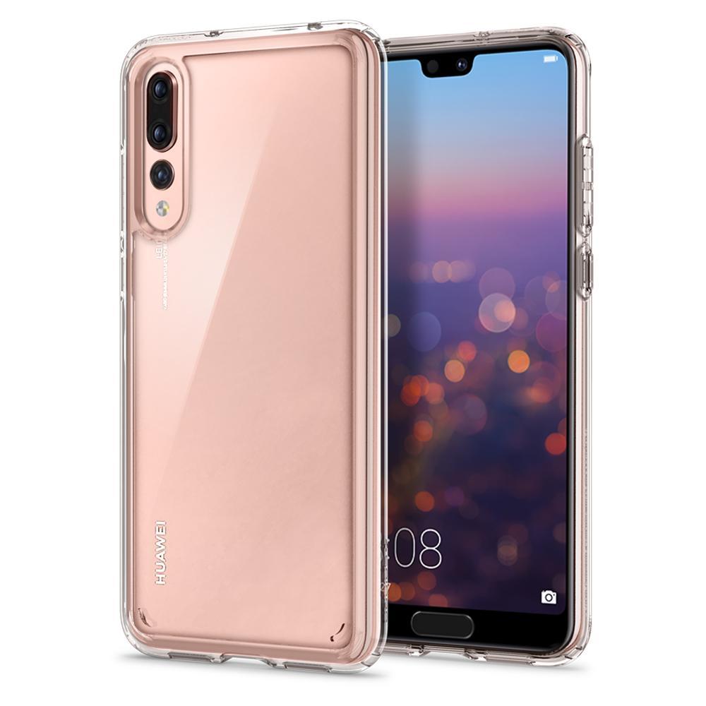 detailed look 67dae a1b58 100% Original Spigen Huawei P20 Pro Case Ultra Hybrid Crystal Clear  L23CS23989