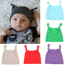 484e32d4fe3 Newborn Baby Knotted Velvet Hat Boys Girls Soft Cap Infant baby warm cap  fashion adjustable boys. 10 Colors Available