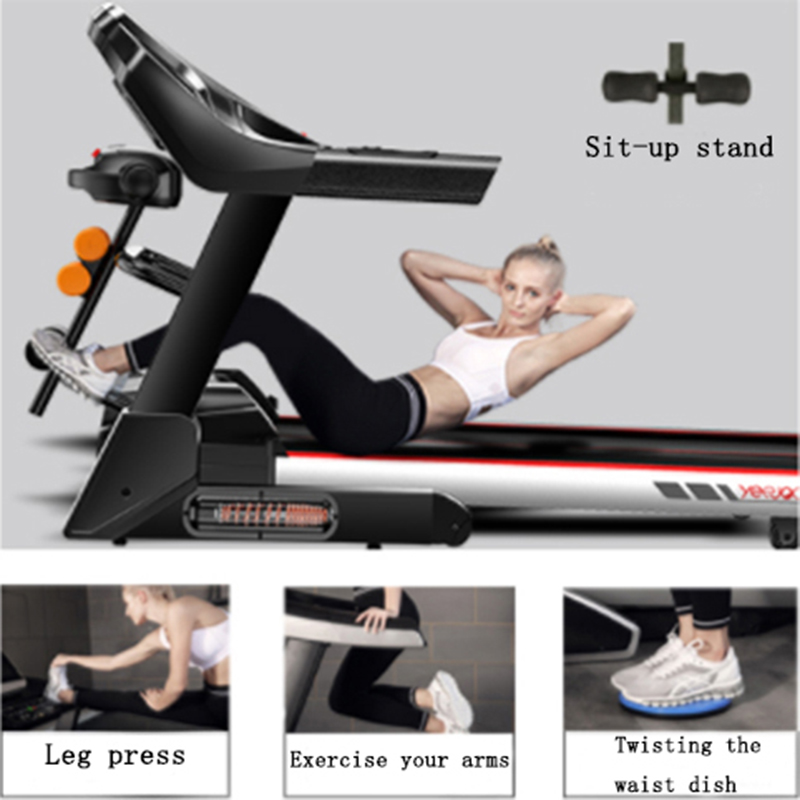 Youmei Household Multi-functional Treadmill Bluetooth Electric Treadmill Indoor Ultra-silent Folding Exercise Exercise Equipment