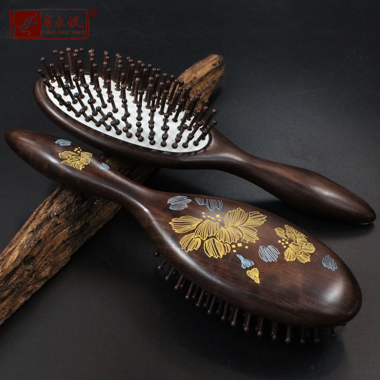 Ebony Green Ebony Boutique gilt headbag air comb massage massage comb comb comb comb board besar