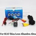 Для SEAT Ibiza/Леон/Cordoba/Альгамбра/Altea/Exeo/толедо/HD Широкоугольный Объектив/CCD Ночного Видения/Камера Заднего вида