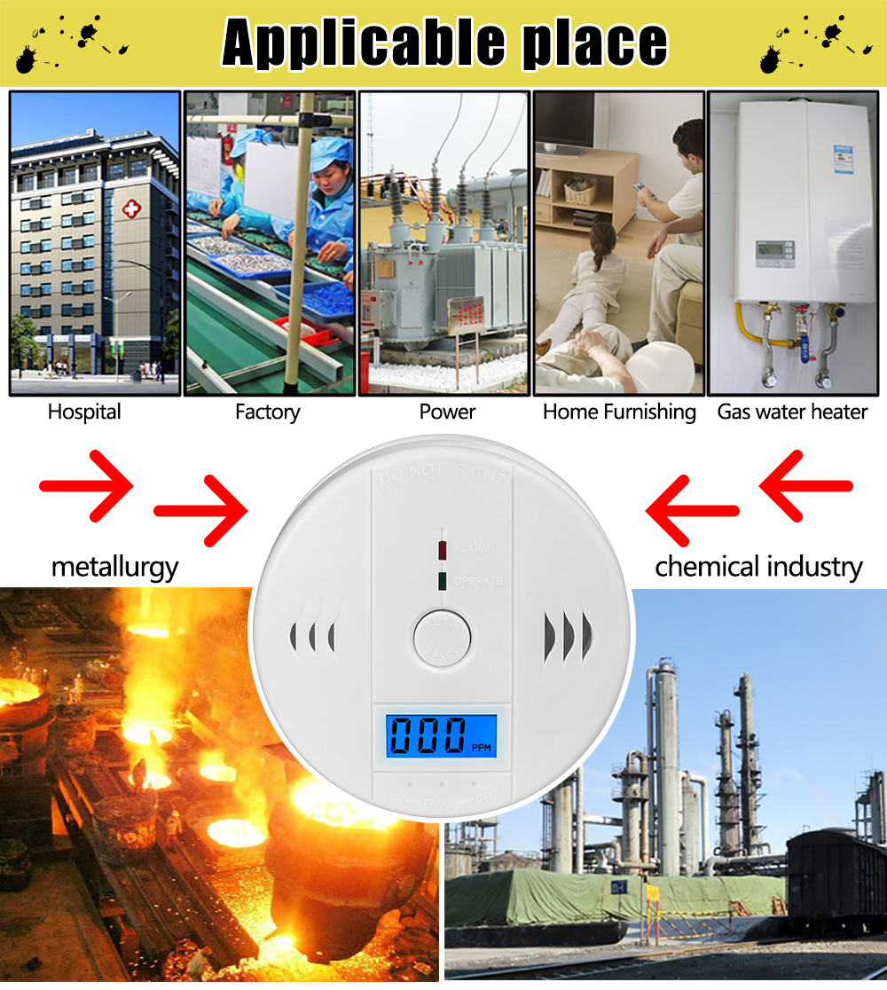 Carbon Monoxide Alarm Detector 1