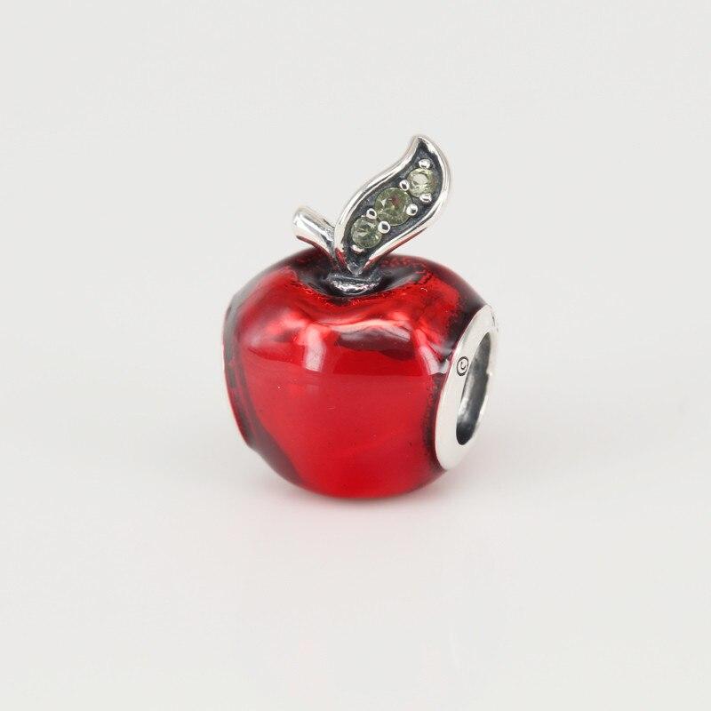 pandora charm mela biancaneve