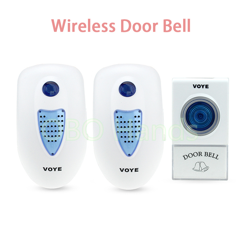 Long range 38 different Chimes music Song waterproof wireless doorbell 1 transmitter 2 receiver access accessories-V003A2 кошелек write a song