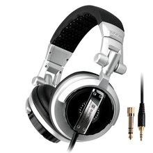 ST-80 Professional Monitor Music Headset Hifi Subwoofer Enhanced Super Bass Noise-Isolating DJ Headphone