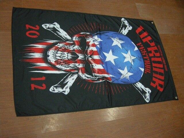 Free Shipping Mayhem Metal Black Metal Music Team Flag Xcm Size