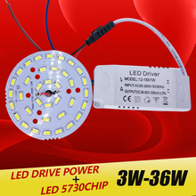 Led-Lamp-Panel Light-Board Driver-Combination Led-Power-Supply Ceiling 36w 5730 24W SMD