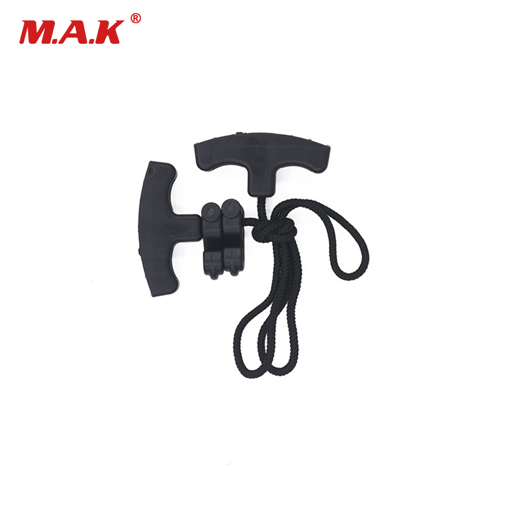 1X Crossbow Rope Cocking Device Double Handle Bow String Cocking Accessories