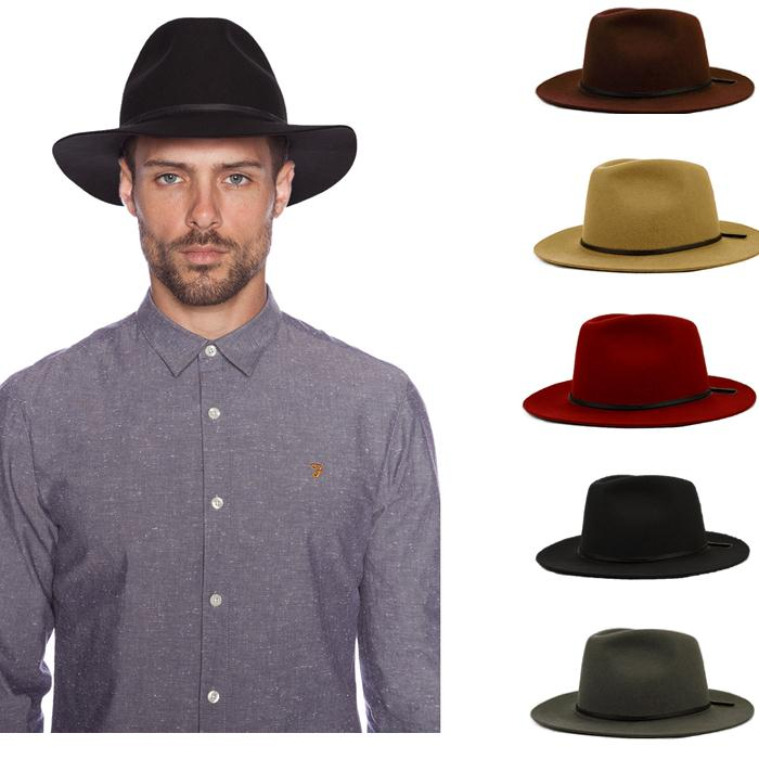 Fashion 100% Wool Summer Women s Men s Crushable Genuine Felt Fedora Bush  Sun Hat Trilby Gorra Toca Sombrero with leather band a81a1fbe420