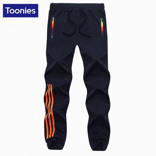 Ropa Deportiva de ocio Sweaterpants Hombres Encuadre de cuerpo entero Pantalones Homme Negro Gris Azul Marino Pantalones Marca de Ropa de Primavera Otoño Ropa