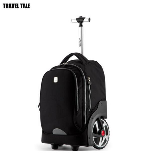 Travel Tale 18 Inch Super Big Wheels Rolling Backpack