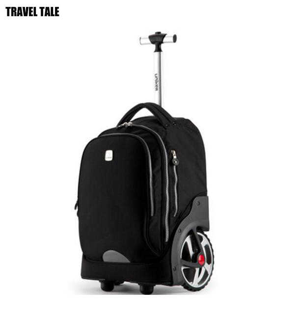 Wheels Rolling Backpack Waterproof