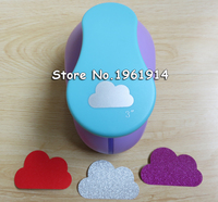 free shipping new arrival 3 inch cloud craft punch perfurador de EVA scrapbooking puncher paper punches