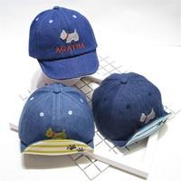 Little Baby Denim Hats 2018 Spring Autumn Fashion Baseball Caps Infant Children Cool Sun Hat Size