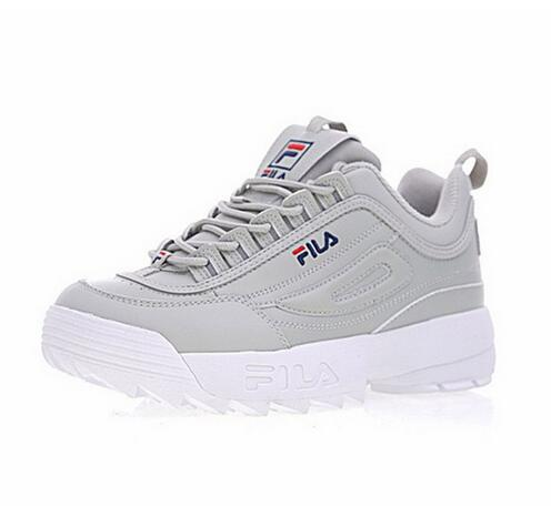New 2018 Fila Disruptor 2 Sneaker Men Running Shoes Big sawtooth Thick bottom increased Man Low Outdoor Sneakers 39-44 2017brand sport mesh men running shoes athletic sneakers air breath increased within zapatillas deportivas trainers couple shoes