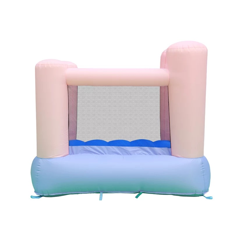HTB16f7APXXXXXc.XpXXq6xXFXXXO - Mr. Fun Kids Pink Inflatable Bouncer Home Trampoline with Blower