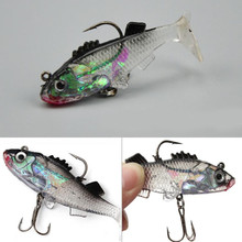 Cute Simulation Portable 6.5cacm Package Lead Fish Bionic Road Fake Sub-bait Soft Lure Bait