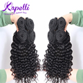 Malaysian Virgin Hair wigs Deep Wave Curly hair Queen Hair Products Kinky Curly Virgin Hair 4pcs/lot perruque cheveux humain