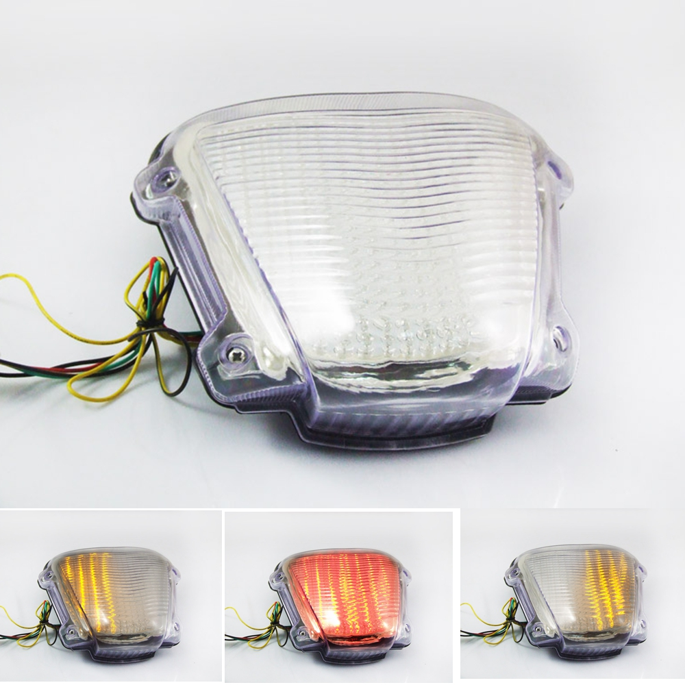 Motorcycle LED Turn Signal Tail Light Taillight For <font><b>SUZUKI</b></font> <font><b>GSXR1300</b></font> <font><b>HAYABUSA</b></font> 2008 2009 2010 image
