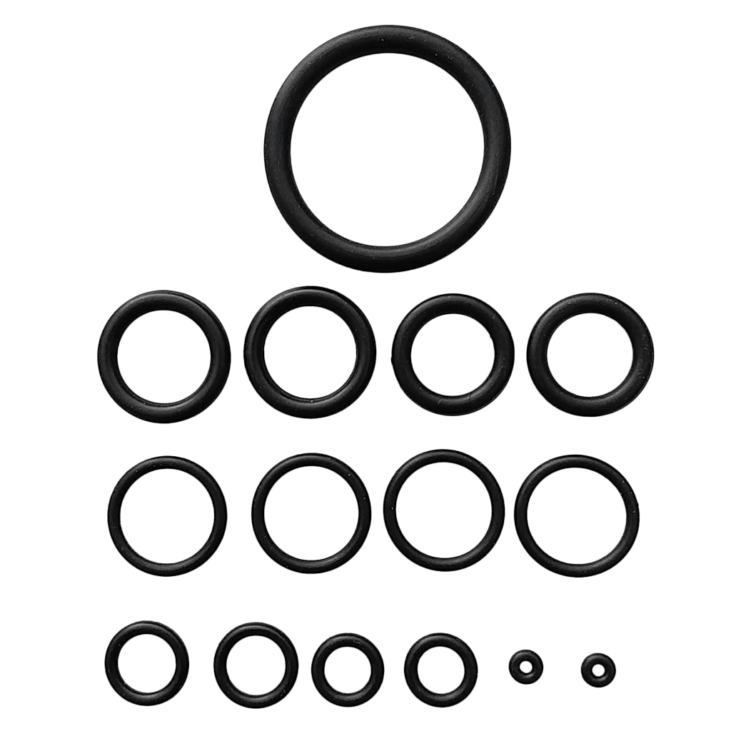 15pcs Scuba Diving O Ring Kit For Dive Tank Hose Gauge Gear Underwater Camera Repair Replacement Accessories