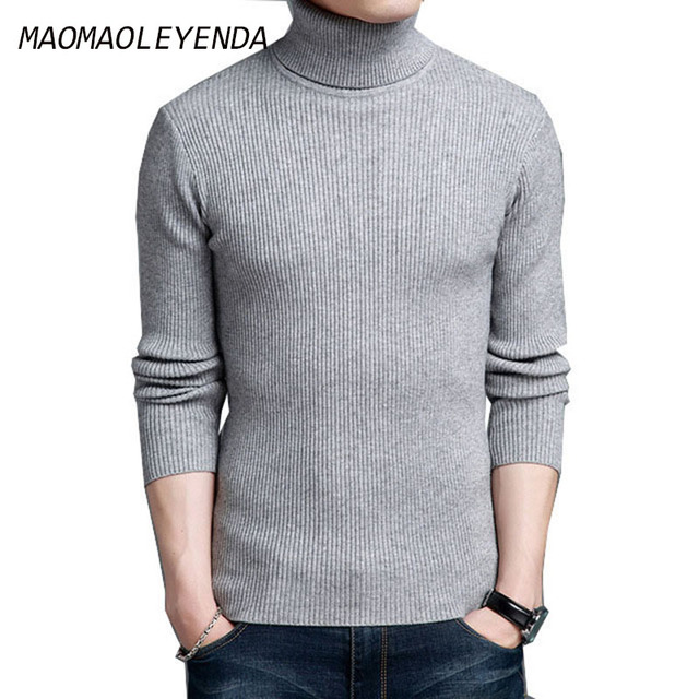 Maomaoleyenda Mens Sweaters 100 Cashmere Sweater Men Autumn Winter