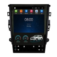 12.1 Tesla Vertical Android Car Multimedia Stereo DVD GPS Navigation for Ford Mondeo MK5 2013 2014 2015 2016 2017 2018 2019