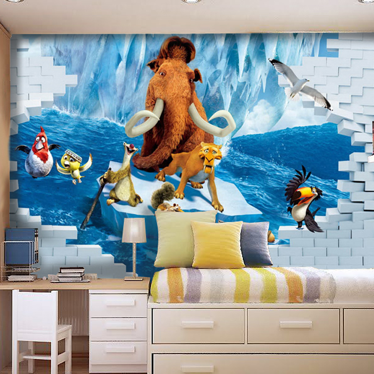 Ice Age Stereoscopic Living Room