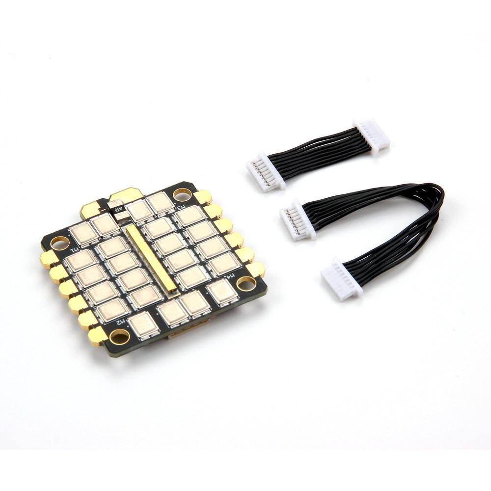 Oyuncaklar ve Hobi Ürünleri'ten Parçalar ve Aksesuarlar'de Holybro Tekko32F3 Metal 65A BLheli_32 4 6S 4in1 ESC DShot1200 w/F3 MCU ve Akım Sensörü RC Drone FPV Yarış'da  Grup 1