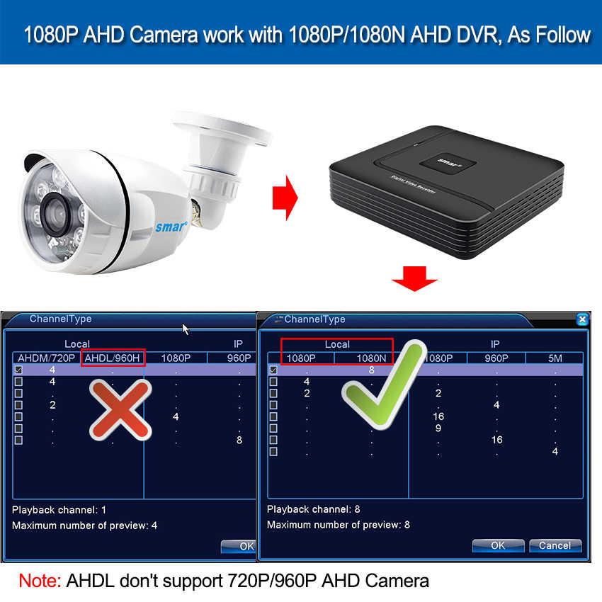 Sony IMX323 сенсор Водонепроницаемый Открытый 1080 P AHD камера CCTV цилиндрическая камера видеонаблюдения 6 Nano IR Led день и ночное видение наблюдения
