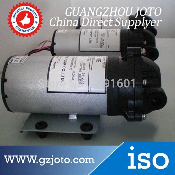 ФОТО DP-100 Electric 24V DC Plastic Micro Diaphragm 24V Pressure Pump