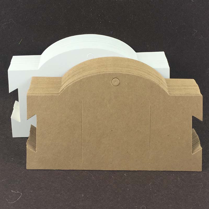 200PCS/lot 9x16cm Kraft Hair Clip Cards for packing Hairpin and used for Hair Accessory Packaging Cards