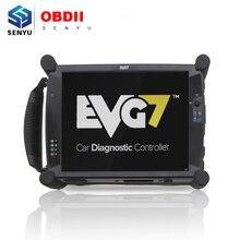 EVG7 ноутбук OBD2 Диагностический авто инструмент планшет бесплатное программное обеспечение для Scania/VAG/C4 Star/ICOM NEXT/MDI/ODIS/MINI VCI TIS Techstream